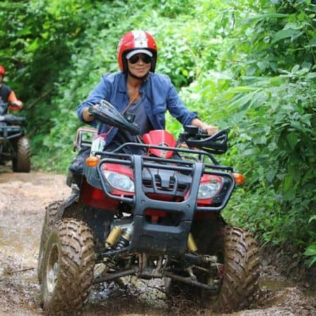 atv and rafting combination tour chiang mai
