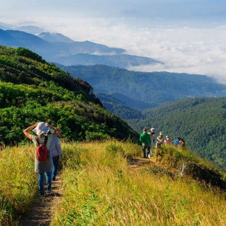 doi suthep trekking tour from chiang mai