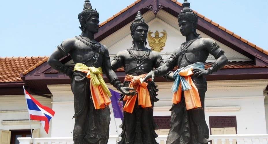 3 kings monument chiang mai