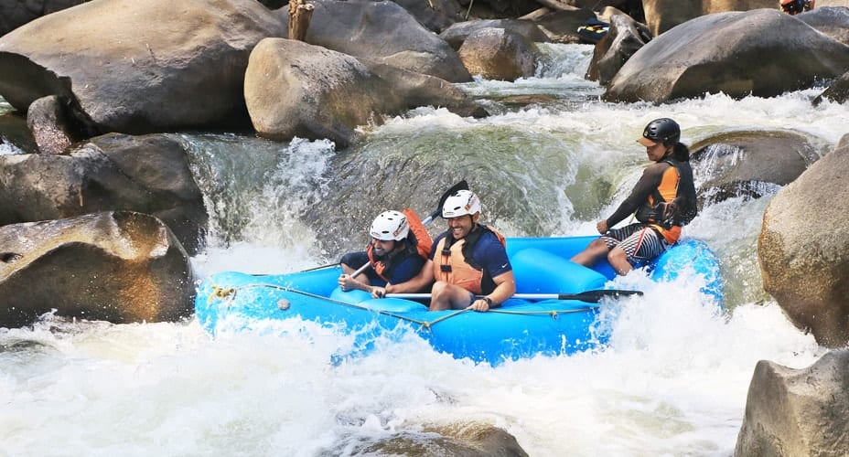 white water rafting chiang mai and atv combination