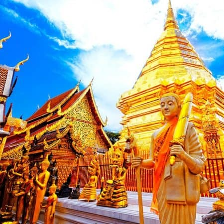 doi suthep and phuping palace tour from chiang mai