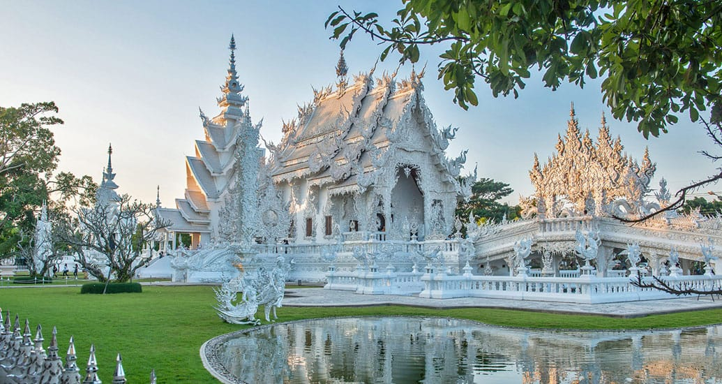 wat rong khun white temple see in chiang rai